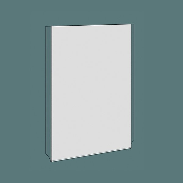 A4 acrylic portrait poster holder