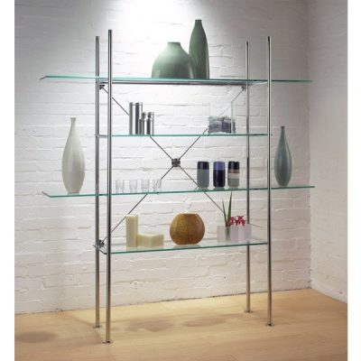 Criss Cross Shelving Unit