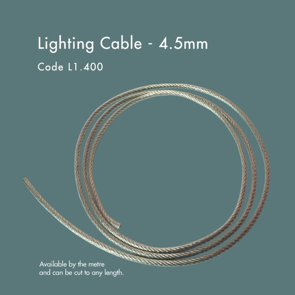 lighting cable 4.5mm