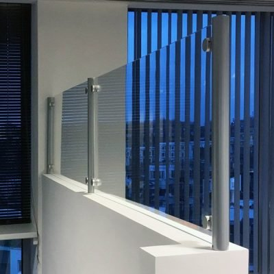 Covid 19 barrier screen to extend the height of existing partitions
