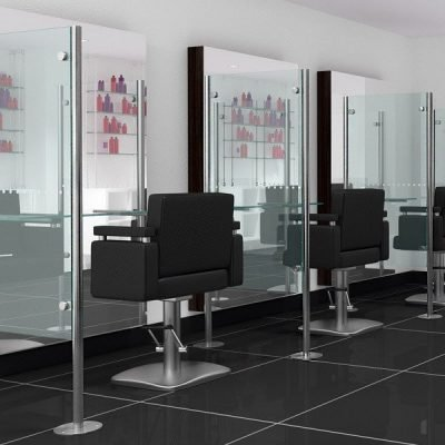 Hair dresser barrier screen